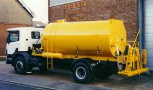 Model FCR91 Bitumen Distributor